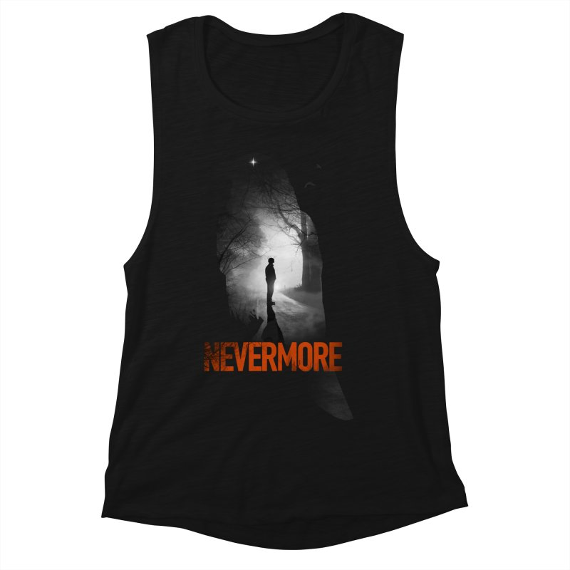 Nevermore Women's Muscle Tank by nicebleed