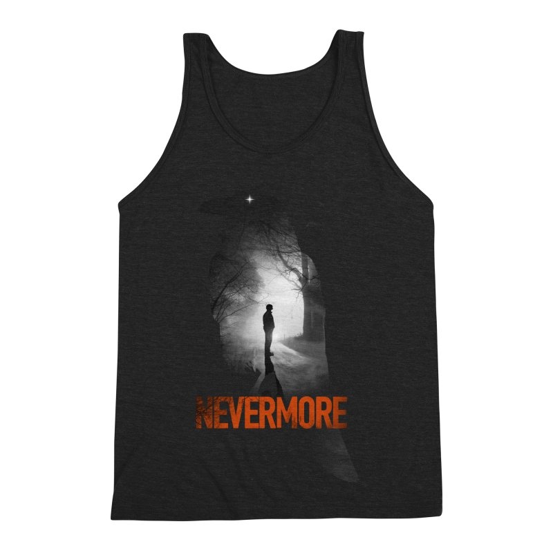 Nevermore Men's Triblend Tank by nicebleed
