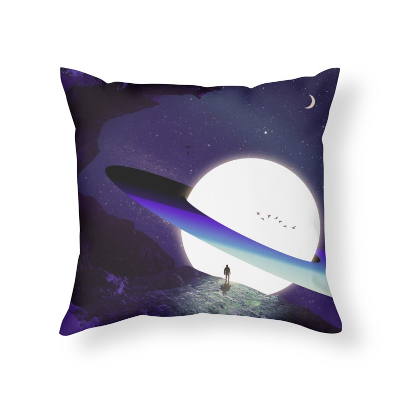 Rendezvous Home Throw Pillow by nicebleed