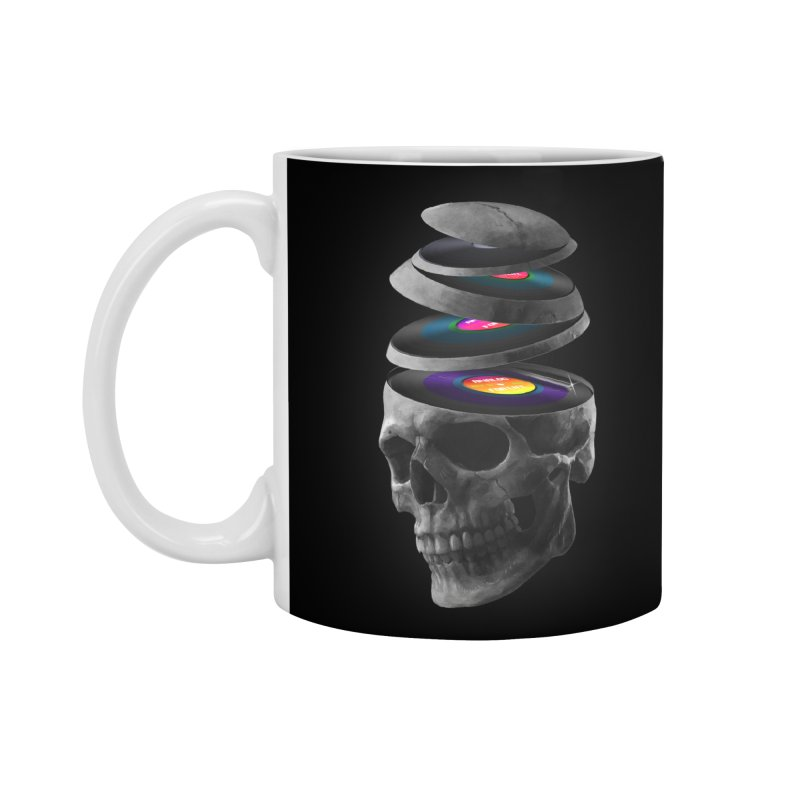 Dead Records Accessories Standard Mug by nicebleed