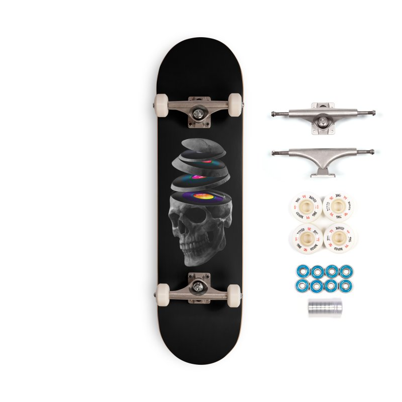 Dead Records Accessories Complete - Premium Skateboard by nicebleed