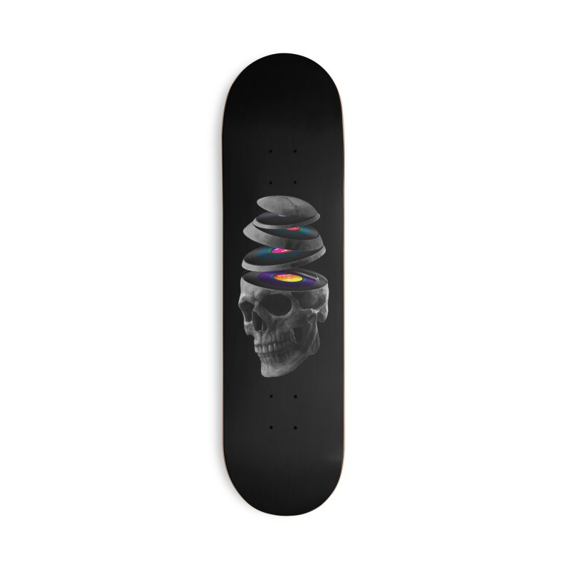 Dead Records Accessories Deck Only Skateboard by nicebleed