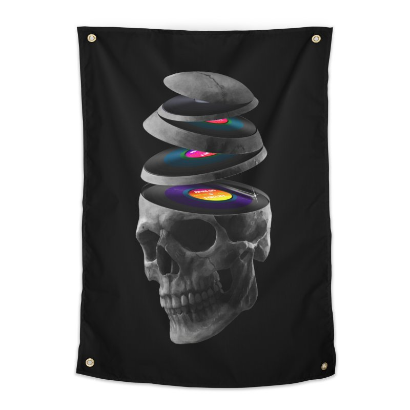 Dead Records Home Tapestry by nicebleed