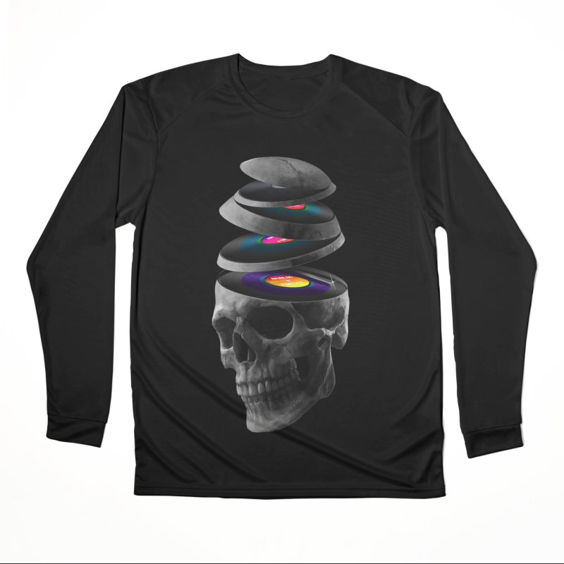 Dead Records Men's Performance Longsleeve T-Shirt by nicebleed