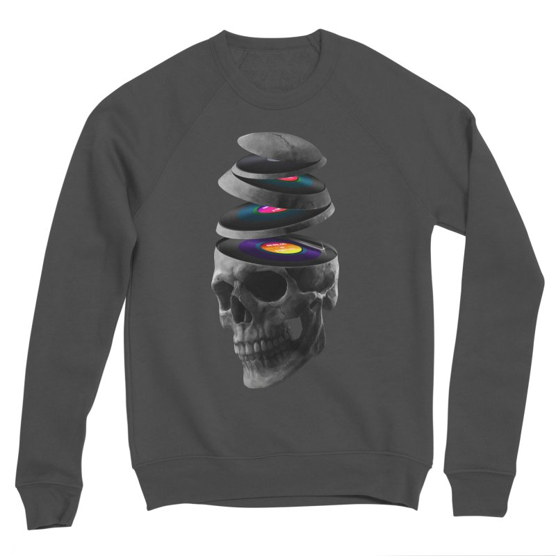 Dead Records Women's Sponge Fleece Sweatshirt by nicebleed