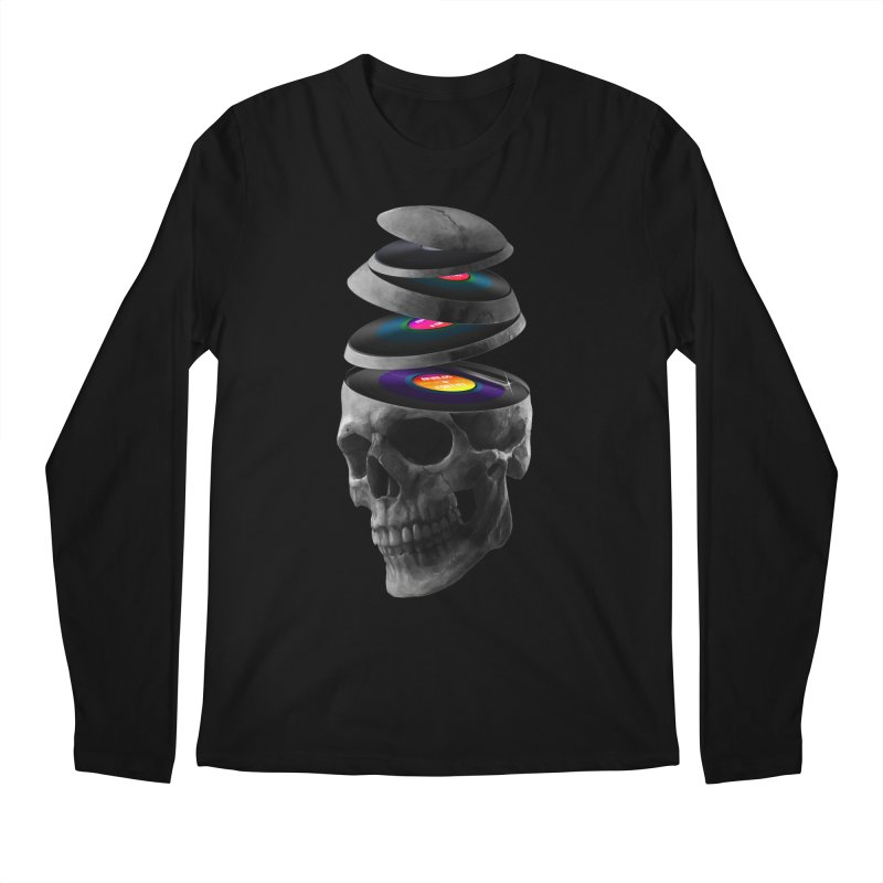 Dead Records Men's Regular Longsleeve T-Shirt by nicebleed