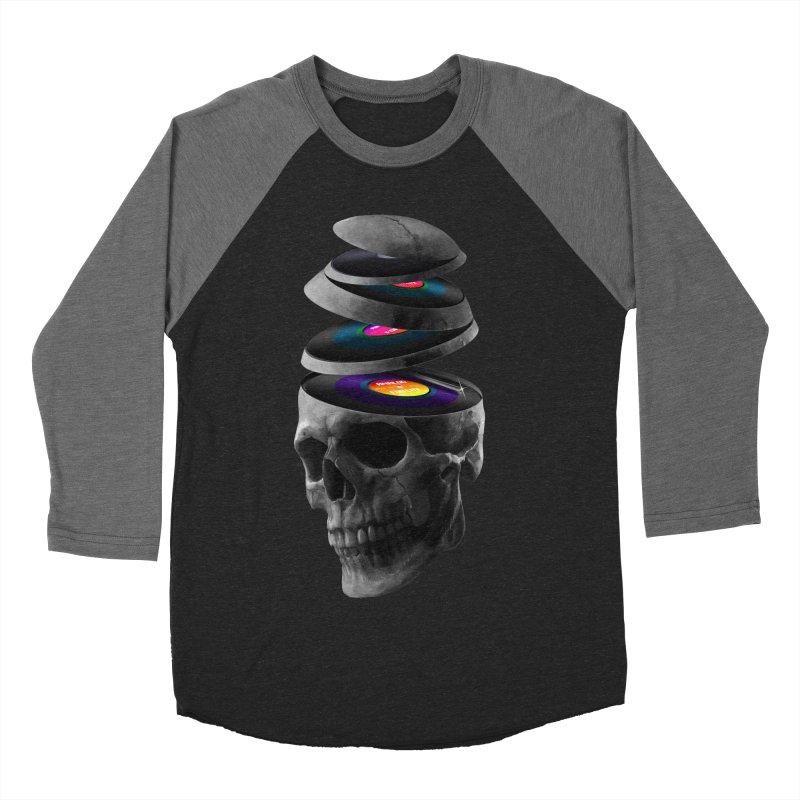 Dead Records Men's Baseball Triblend Longsleeve T-Shirt by nicebleed