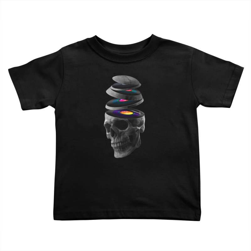Dead Records Kids Toddler T-Shirt by nicebleed