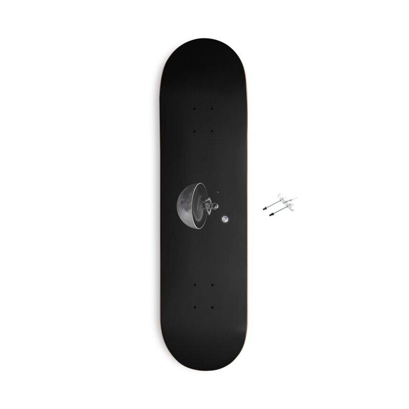 Easy (Moon Version) Accessories With Hanging Hardware Skateboard by nicebleed