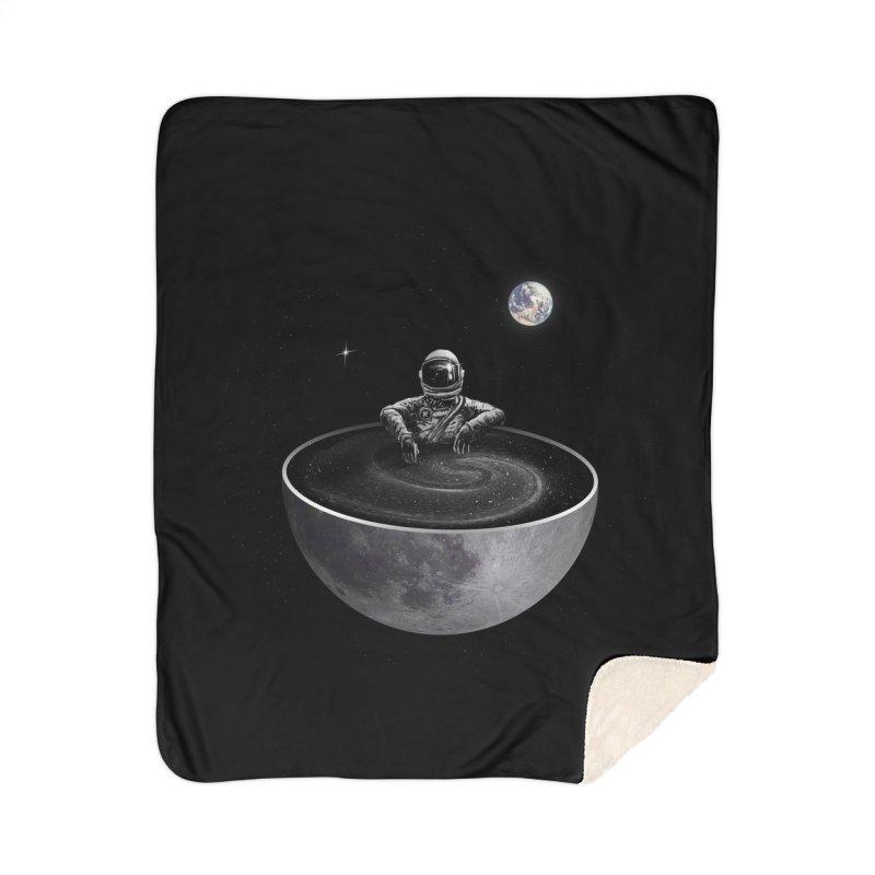 Easy (Moon Version) Home Sherpa Blanket Blanket by nicebleed