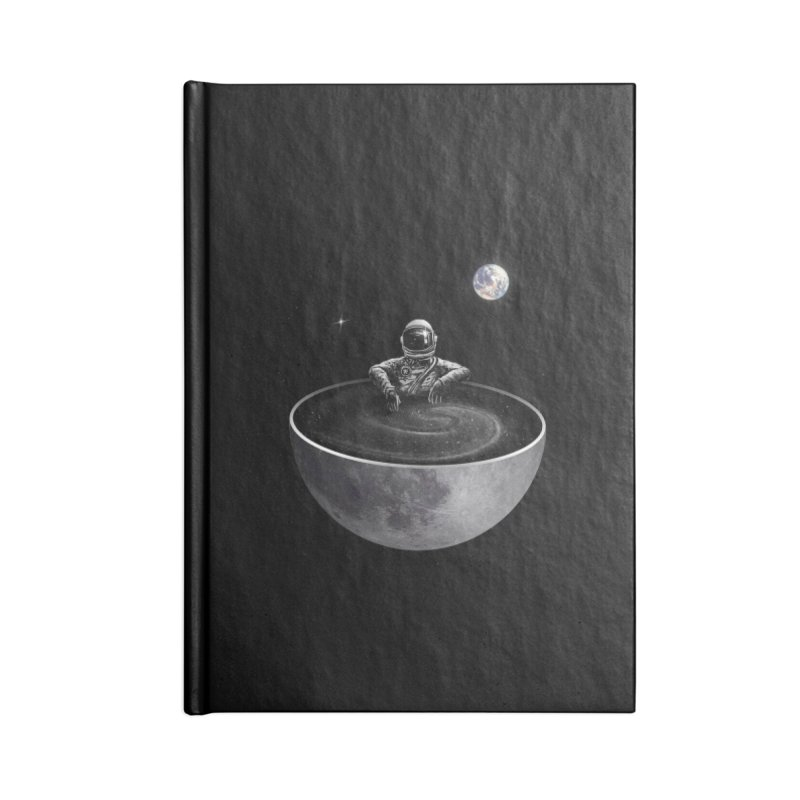 Easy (Moon Version) Accessories Lined Journal Notebook by nicebleed