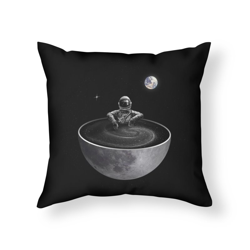 Easy (Moon Version) Home Throw Pillow by nicebleed