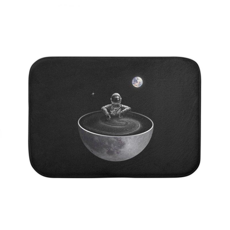Easy (Moon Version) Home Bath Mat by nicebleed