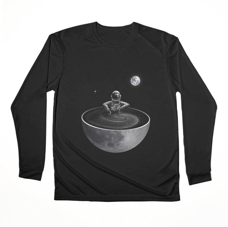 Easy (Moon Version) Women's Performance Unisex Longsleeve T-Shirt by nicebleed