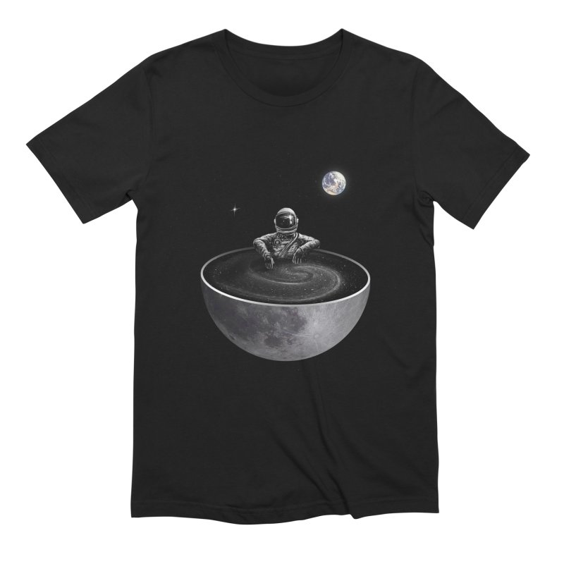 Easy (Moon Version) Men's Extra Soft T-Shirt by nicebleed