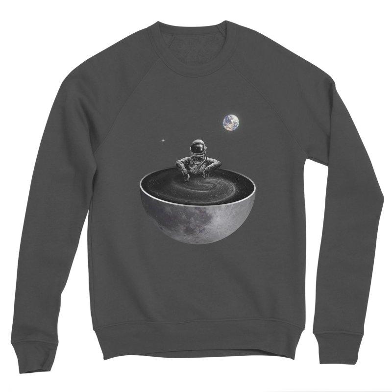 Easy (Moon Version) Men's Sponge Fleece Sweatshirt by nicebleed