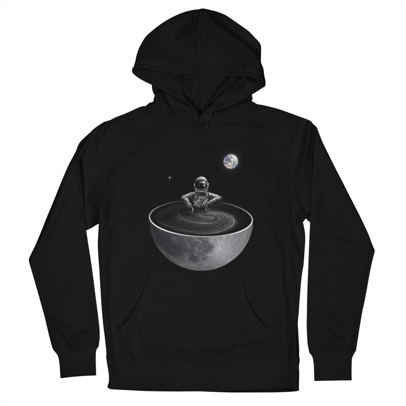 Easy (Moon Version) Women's French Terry Pullover Hoody by nicebleed