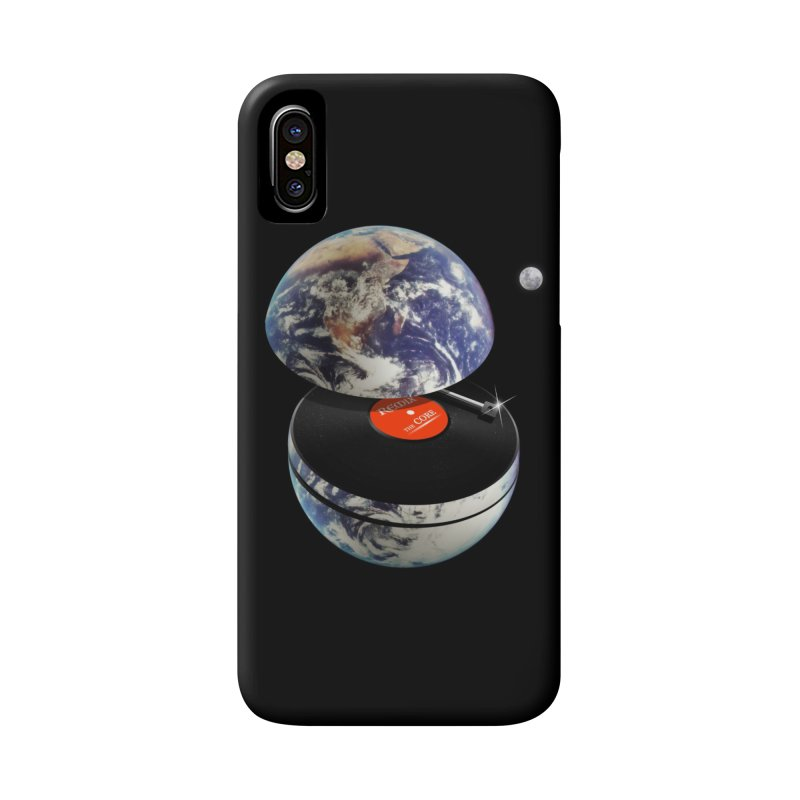 DJ Earth Accessories Phone Case by nicebleed