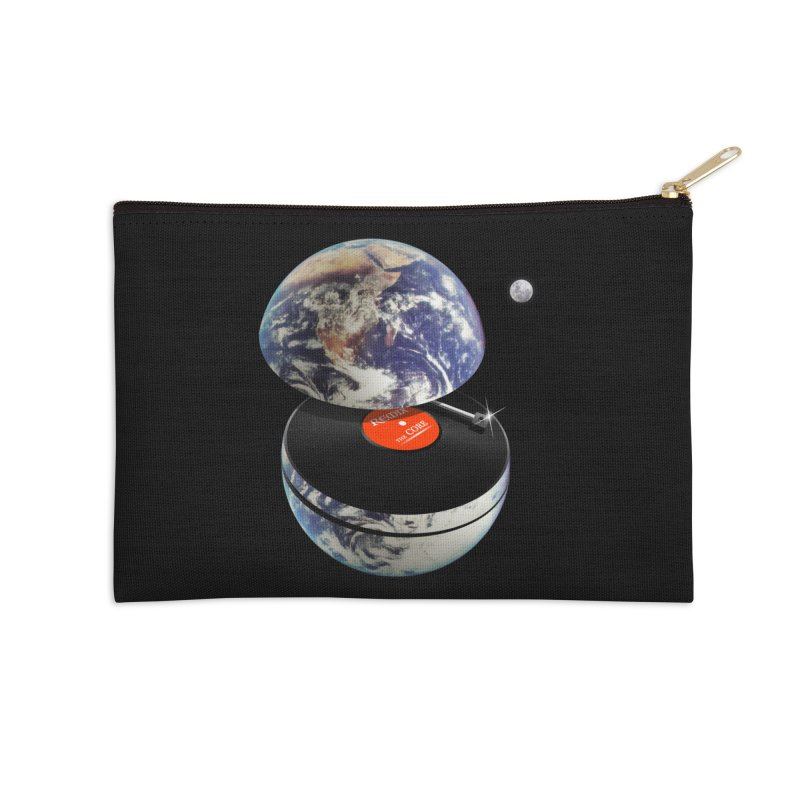 DJ Earth Accessories Zip Pouch by nicebleed