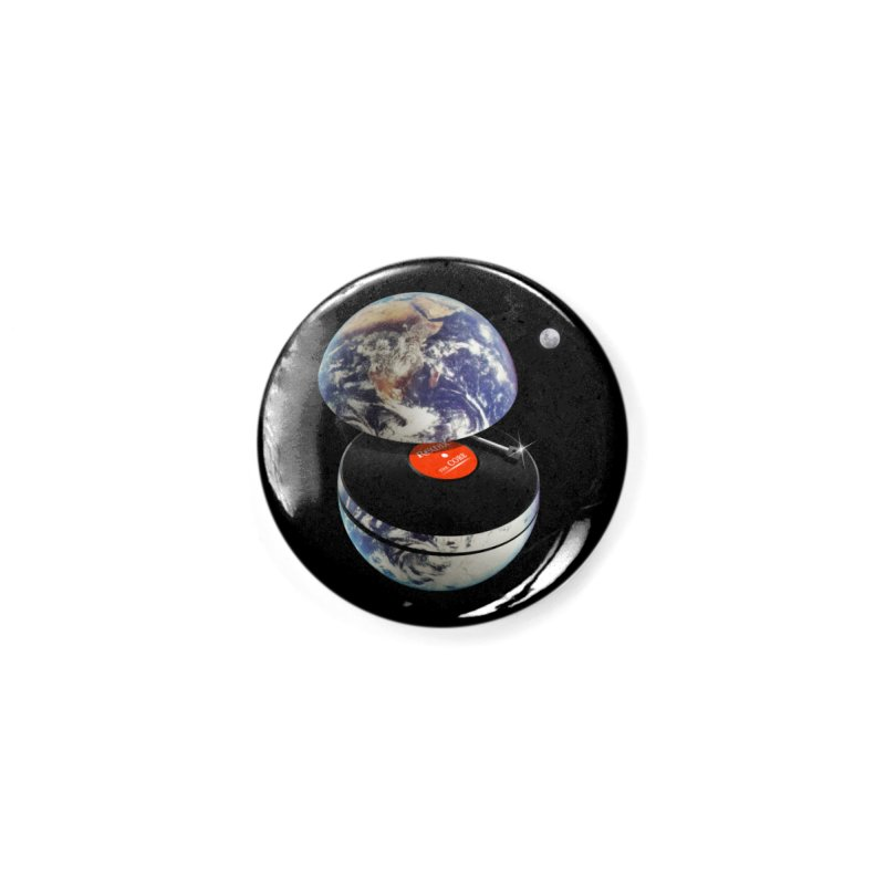 DJ Earth Accessories Button by nicebleed