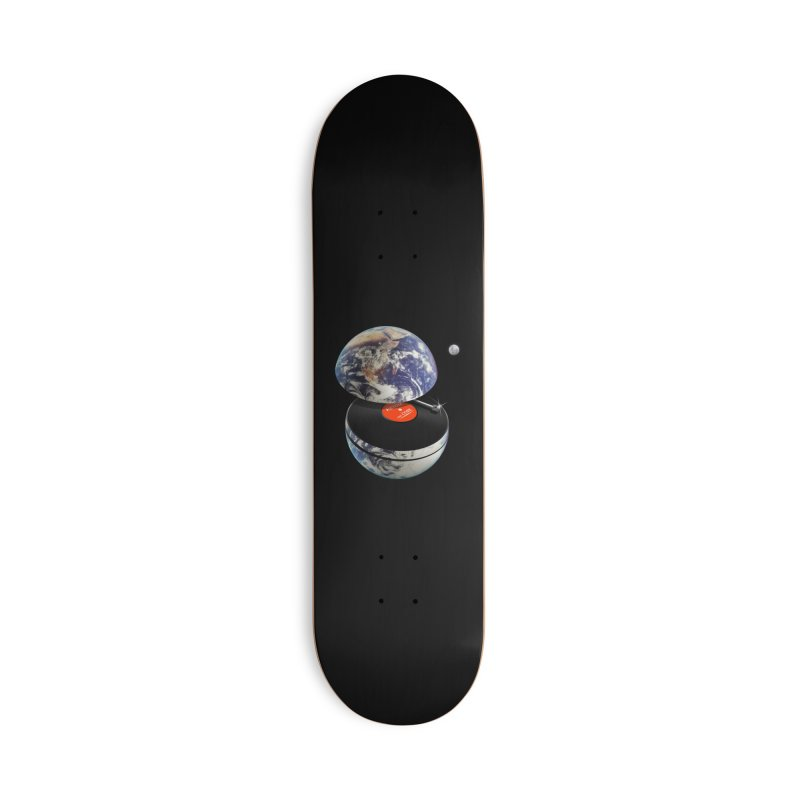 DJ Earth Accessories Deck Only Skateboard by nicebleed