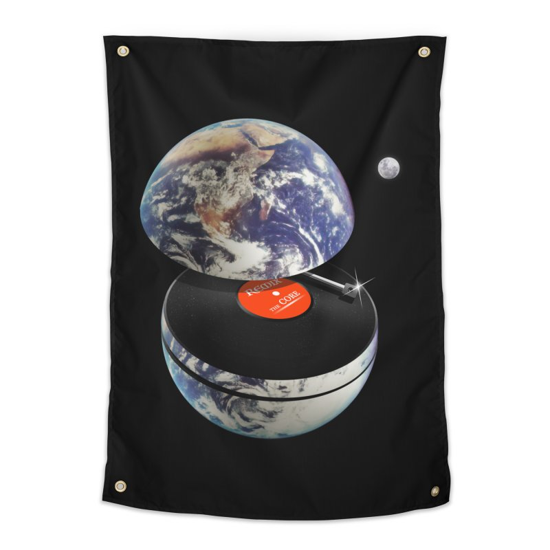 DJ Earth Home Tapestry by nicebleed
