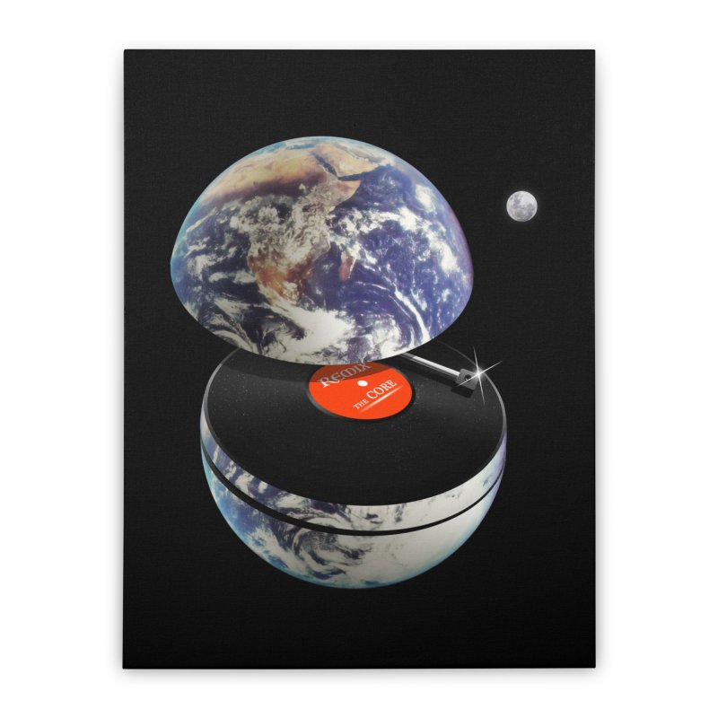 DJ Earth Home Stretched Canvas by nicebleed