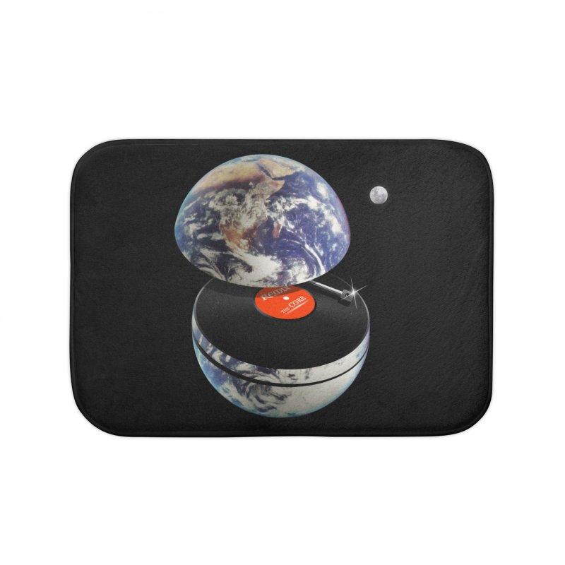DJ Earth Home Bath Mat by nicebleed