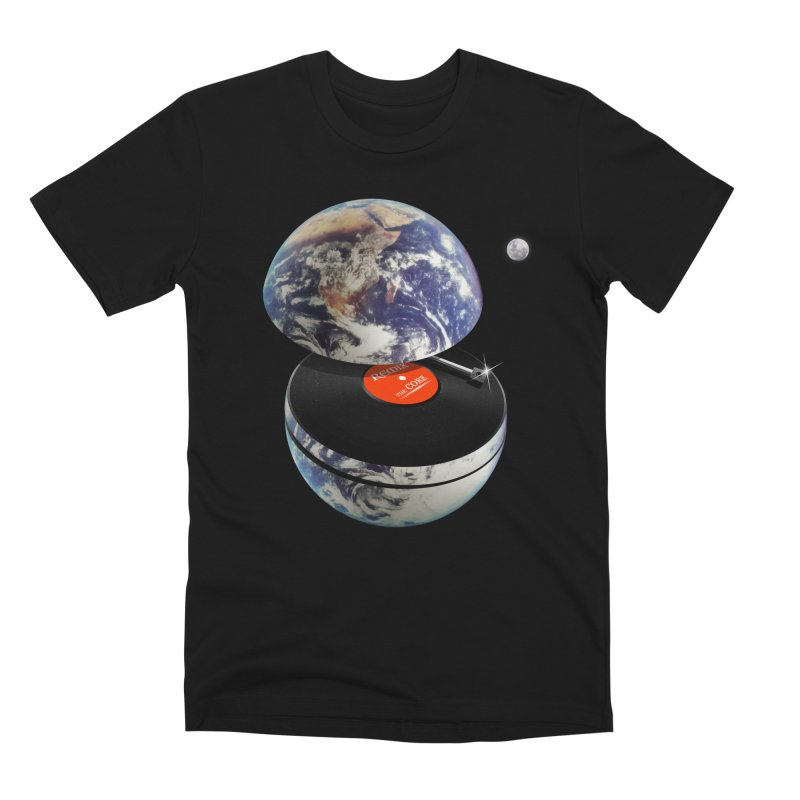 DJ Earth Men's Premium T-Shirt by nicebleed
