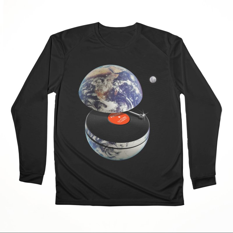 DJ Earth Women's Performance Unisex Longsleeve T-Shirt by nicebleed