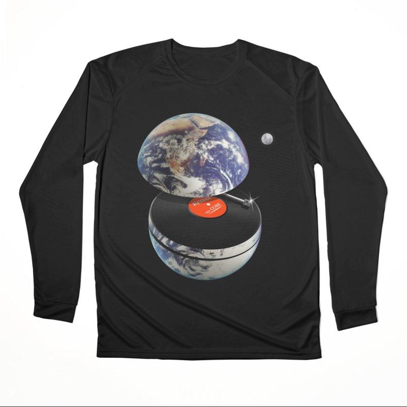 DJ Earth Men's Performance Longsleeve T-Shirt by nicebleed