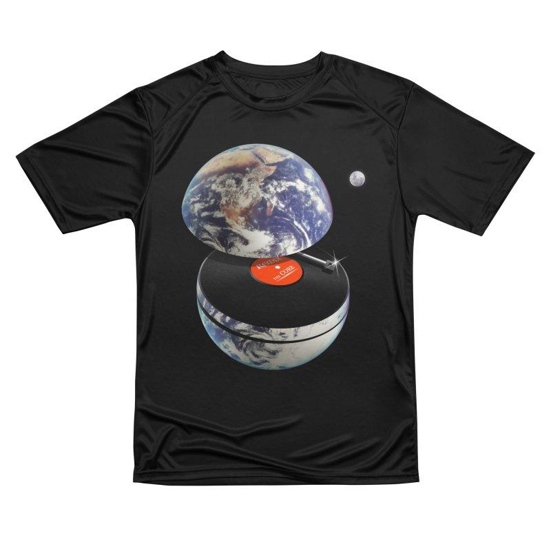 DJ Earth Women's Performance Unisex T-Shirt by nicebleed