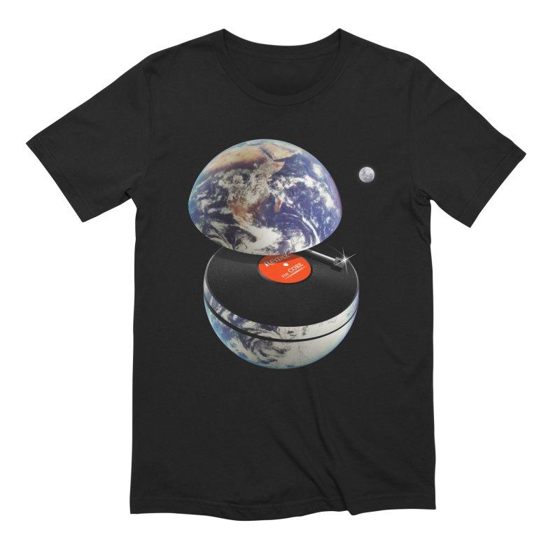 DJ Earth Men's Extra Soft T-Shirt by nicebleed