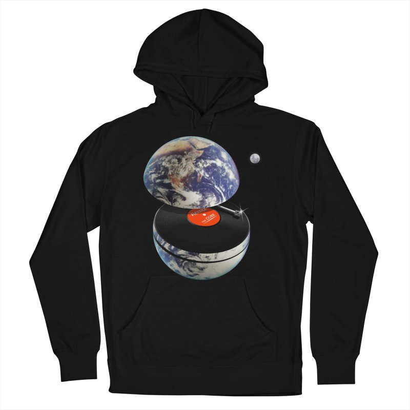 DJ Earth Women's French Terry Pullover Hoody by nicebleed