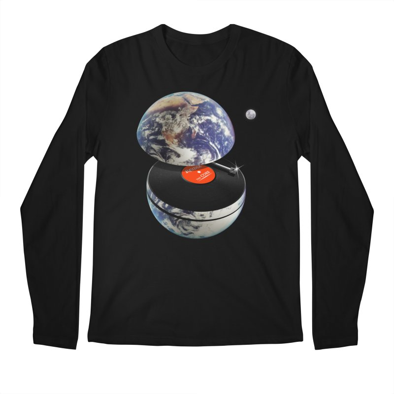 DJ Earth Men's Regular Longsleeve T-Shirt by nicebleed