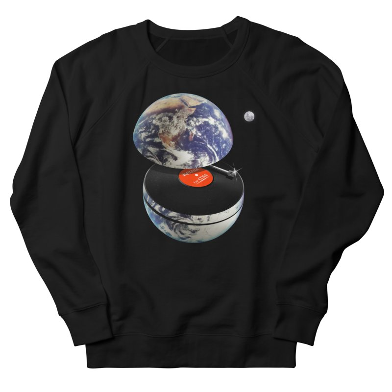 DJ Earth Men's French Terry Sweatshirt by nicebleed