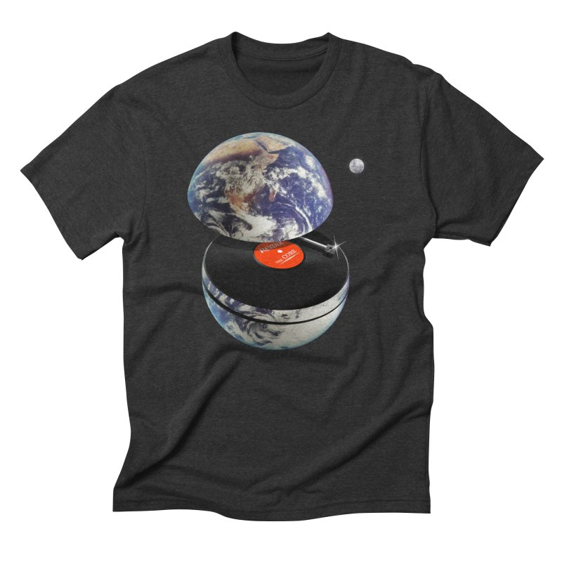 DJ Earth Men's Triblend T-Shirt by nicebleed