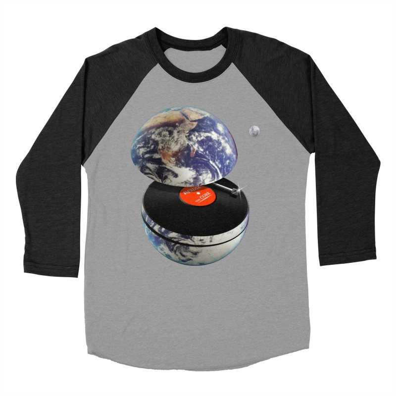 DJ Earth Women's Baseball Triblend Longsleeve T-Shirt by nicebleed