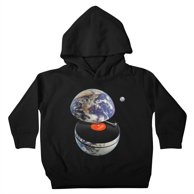 DJ Earth Kids Toddler Pullover Hoody by nicebleed