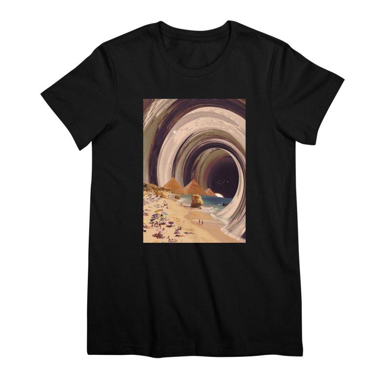 Tunnel Women's Premium T-Shirt by nicebleed