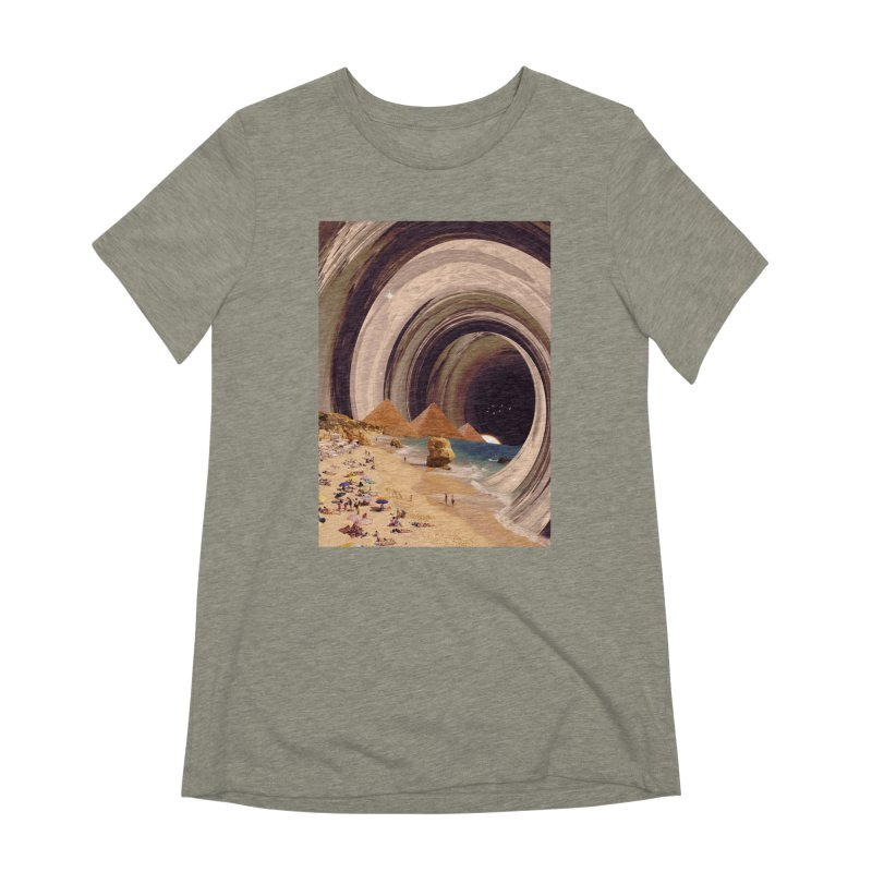 Tunnel Women's Extra Soft T-Shirt by nicebleed