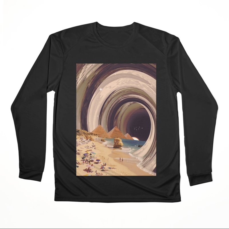 Tunnel Men's Longsleeve T-Shirt by nicebleed