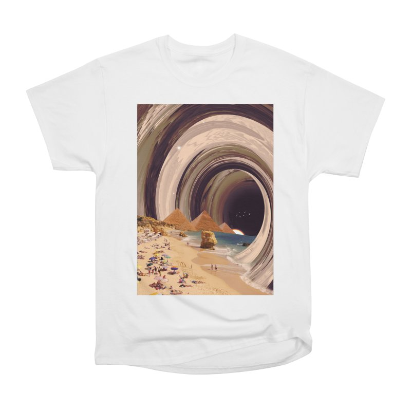 Tunnel Men's Heavyweight T-Shirt by nicebleed