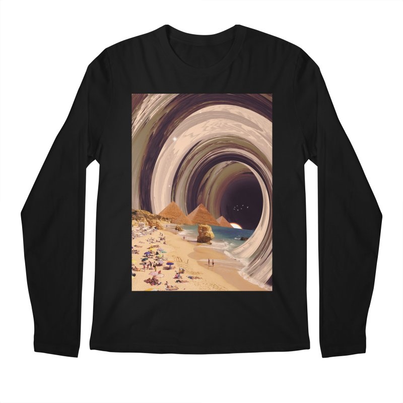 Tunnel Men's Regular Longsleeve T-Shirt by nicebleed