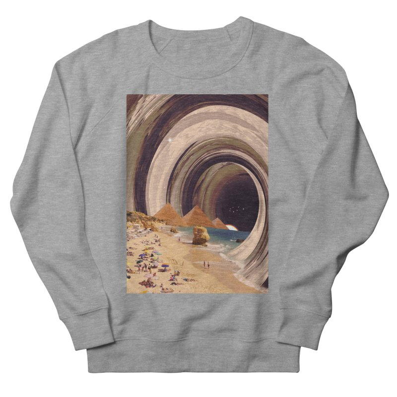Tunnel Men's French Terry Sweatshirt by nicebleed