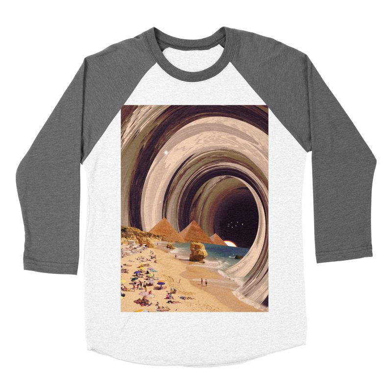 Tunnel Women's Baseball Triblend Longsleeve T-Shirt by nicebleed