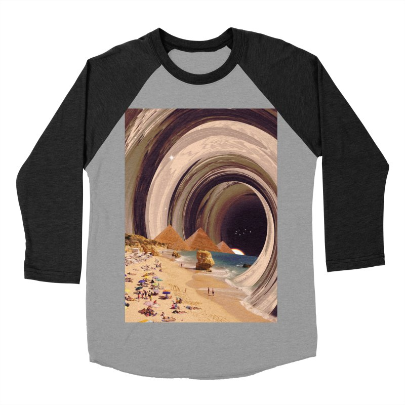 Tunnel Men's Baseball Triblend Longsleeve T-Shirt by nicebleed