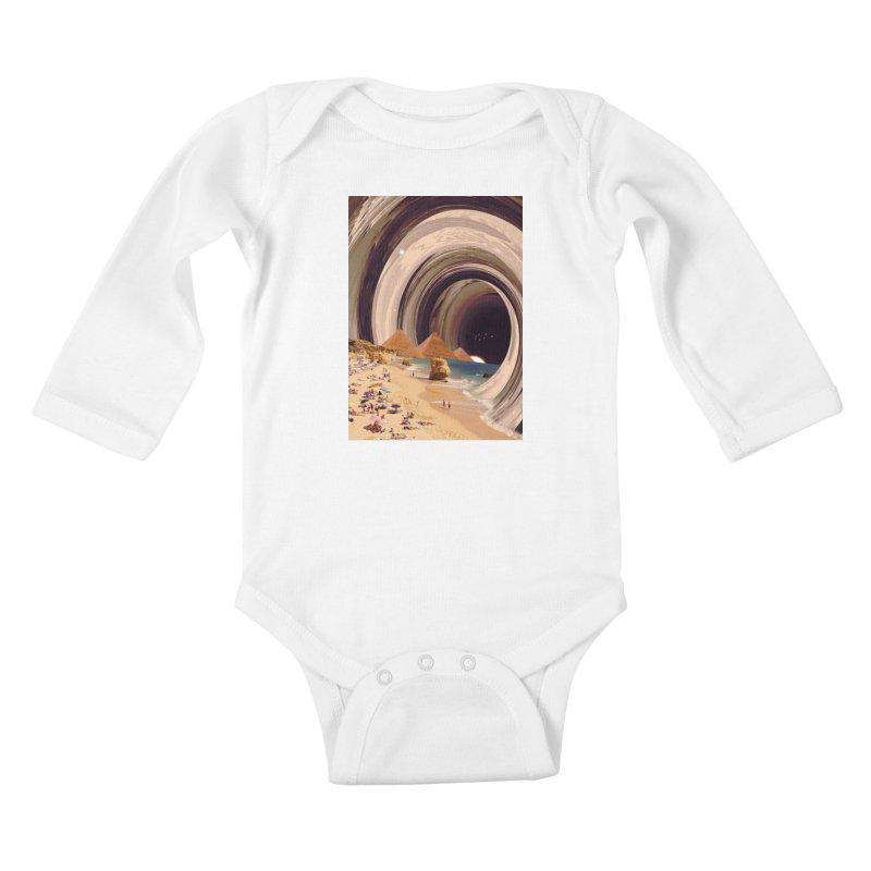 Tunnel Kids Baby Longsleeve Bodysuit by nicebleed