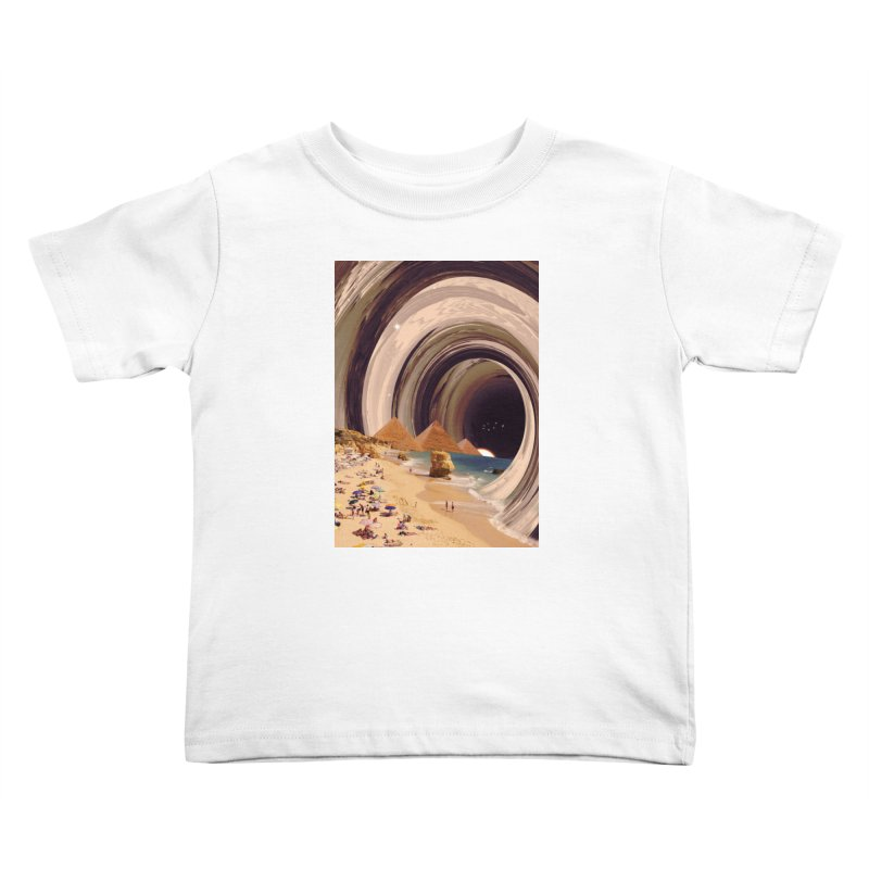 Tunnel Kids Toddler T-Shirt by nicebleed