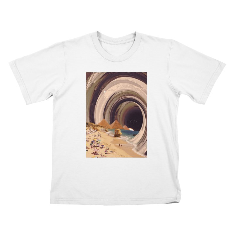 Tunnel Kids T-Shirt by nicebleed